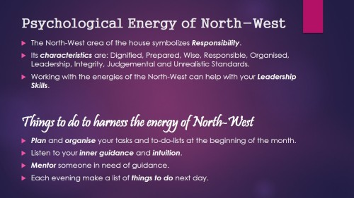 Psychological Energy of North-West