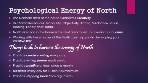 Psychological Energy of North