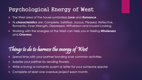Psychological Energy of West