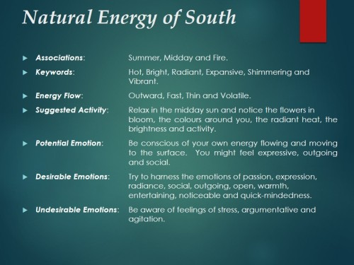 Natural Energy of South