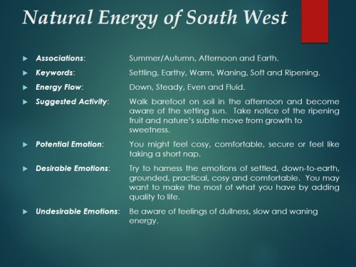 Natural Energy of South West