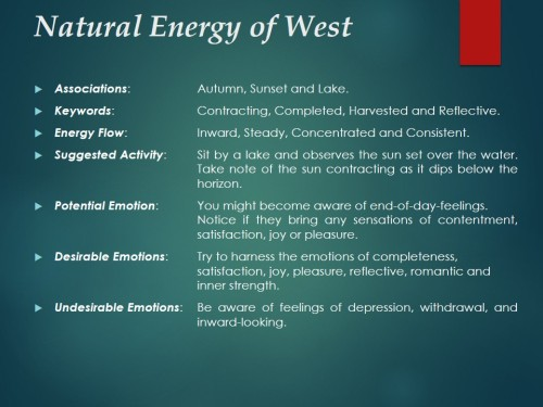 Natural Energy of West